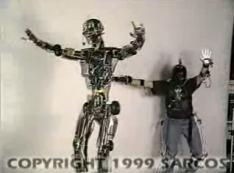 The remote-controlled humanoid robot